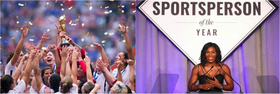 Huff Post:  Was 2015 the Tipping Point for Women in Sports? (opinion)