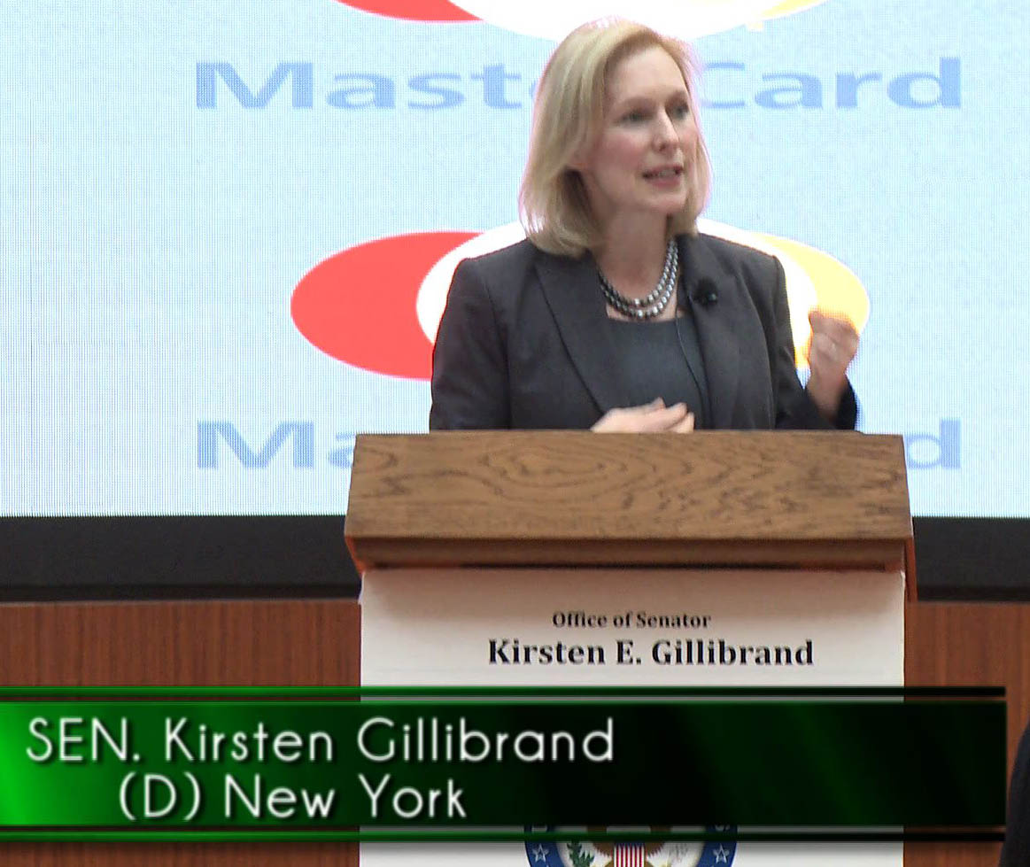 Gillibrand at podium cropped reduced